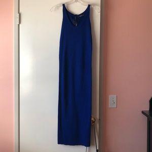 ZARA - Royal blue knit dress (Size S)